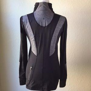 lululemon athletica Half Zip Pullover Sz 8